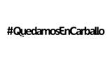 #QuedamosEnCarballo